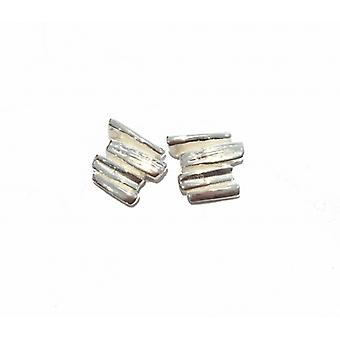 Cavendish French Step by Step Silver Stud Earrings
