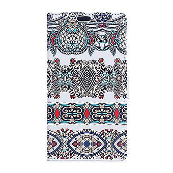 Sony Xperia XA2 portafoglio sacchetto arabo floreali