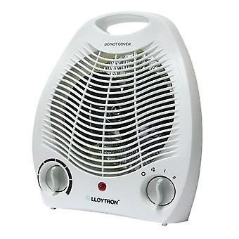 Lloytron Upright Fan Heater 2 Kilowatt White (Model No. Lloytron F2001WH)