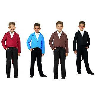 Dzieci Smoking frak kostium akcesoria karnawałowe kurtka