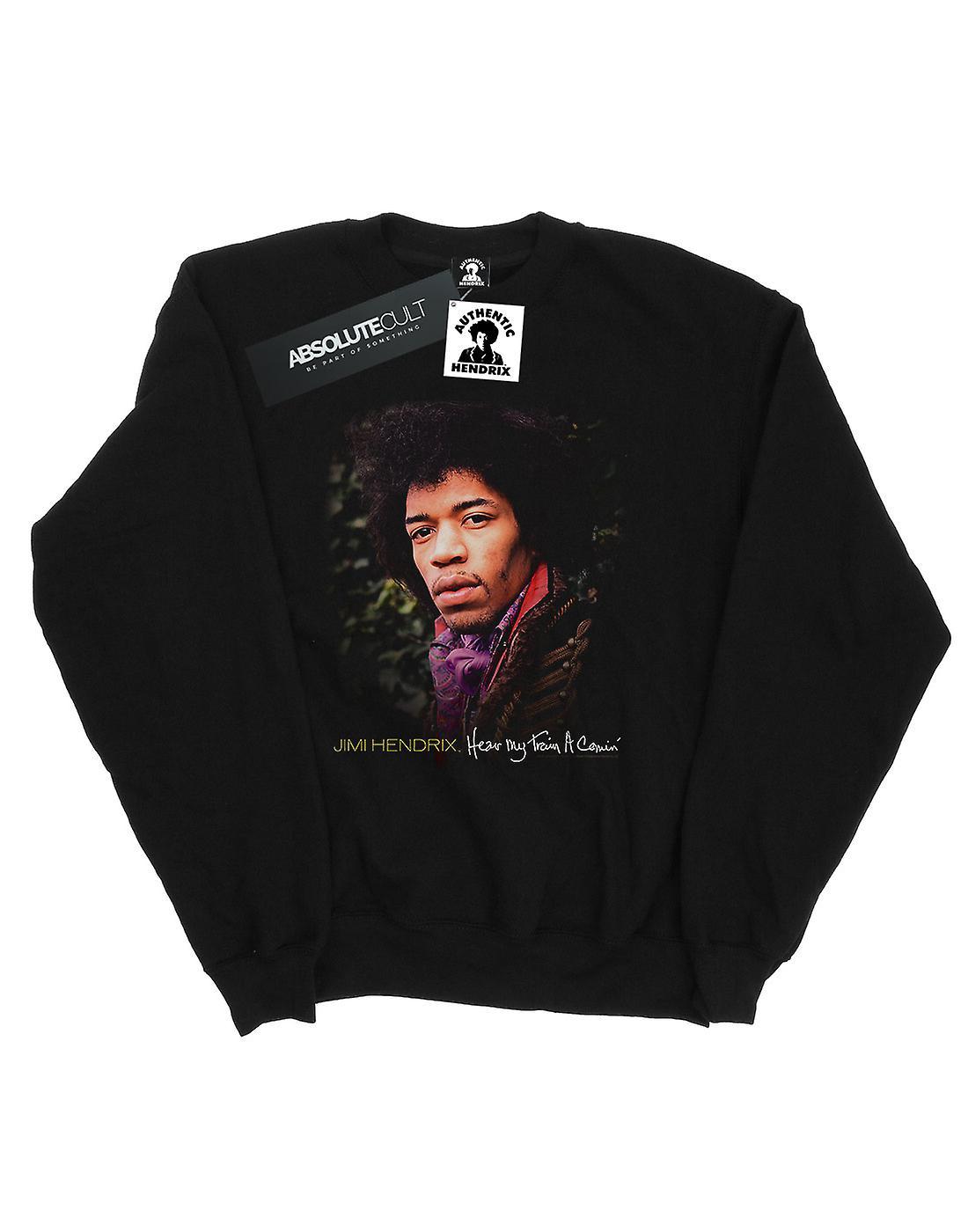 Jimi Hendrix Men's Train A' Comin Sweatshirt