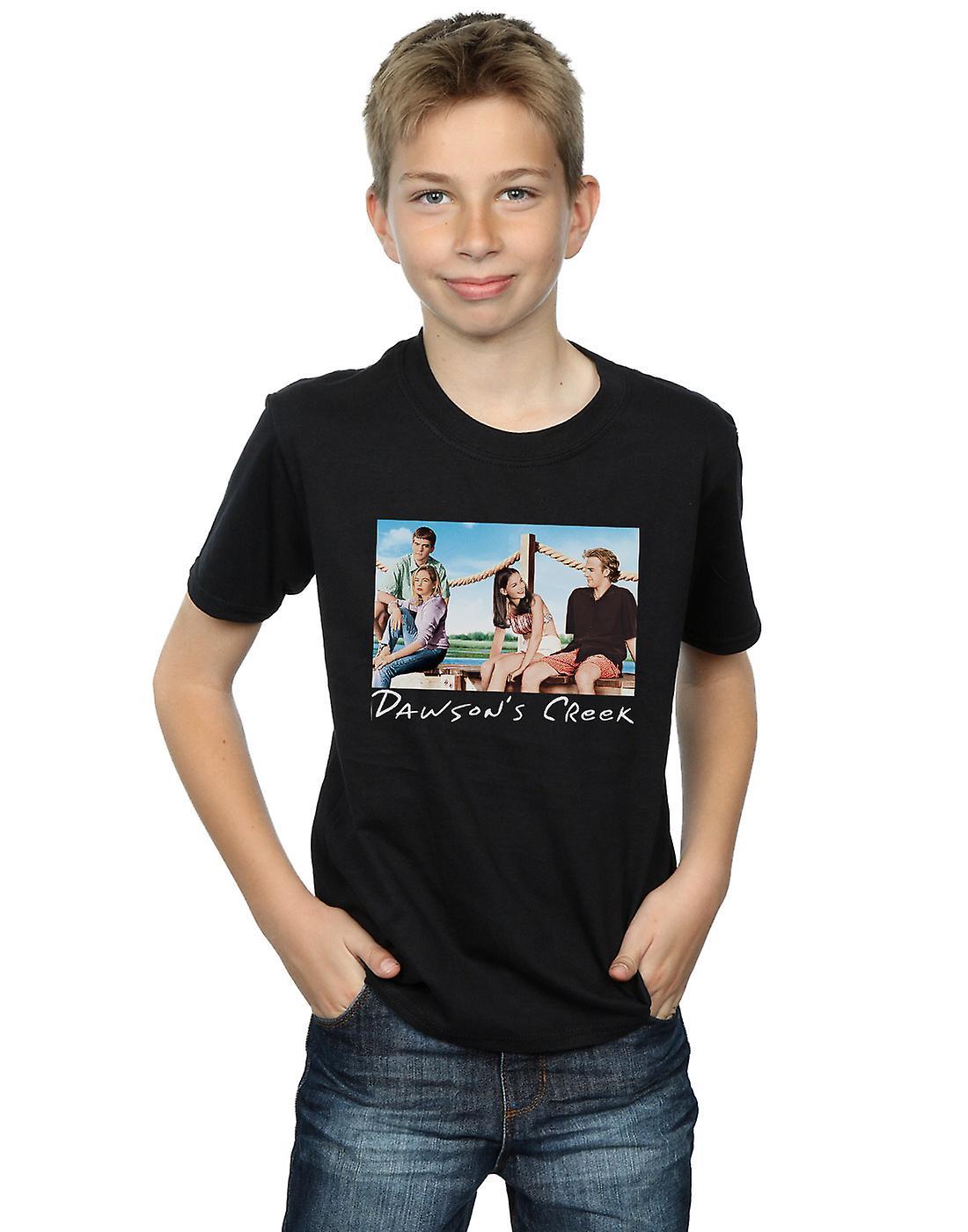 Dawson's Creek Boys Bridge Photo T-Shirt