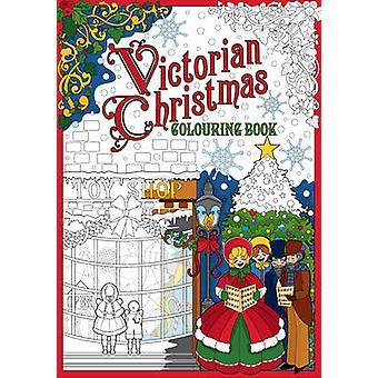 Victorian Christmas färgning bok av historia Press - 97818416574