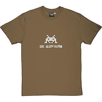 Die Alien Scum Military Green Men's T-Shirt