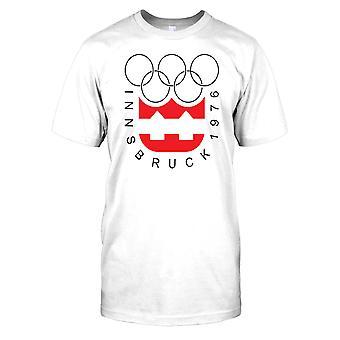 Innsbruck 1976 Jogos Olímpicos de inverno Mens T-shirt