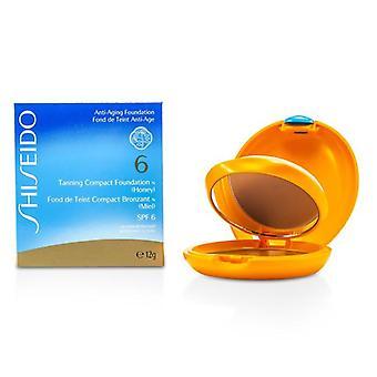 Fundación Tanning Compact N Spf6 - Miel - 12g/0.4oz