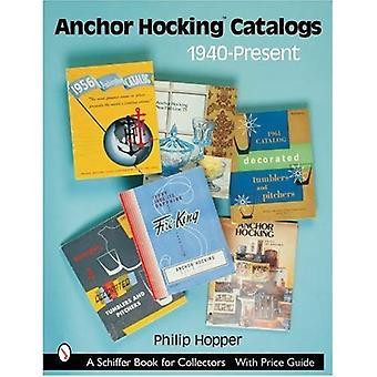 Anchor Hocking catálogos, 1940-presente (Schiffer livro para colecionadores)