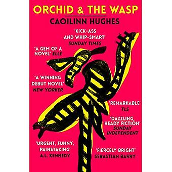 Orquídea e a vespa
