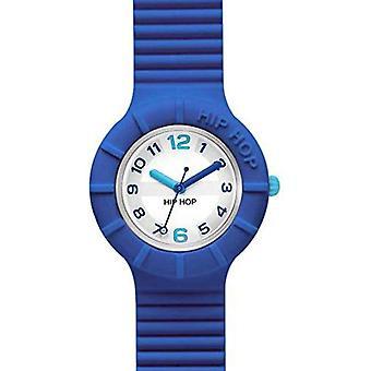 Hip Hop Analog quartz ladies Silicone wrist watch HWU0463