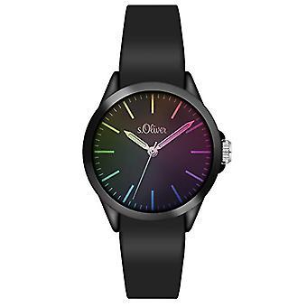 s. Oliver _ unisex armband kwarts-analoog kijken, siliconen 3197 _ PQ
