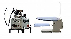 Magpie 5-litre Boiler + Pressmaster Extra Wide Ironing Table Bundle for Industrial Use