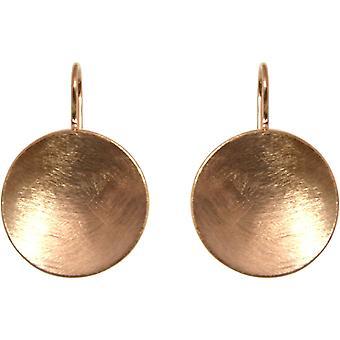 GEMSHINE naisten korva korut Solid 925 hopea nousi kultaa kullattu. Suunnittelija.