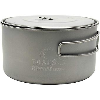 TOAKS Titanium 1350ml Outdoor Camping Cook Pot POT-1350