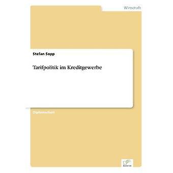 Tarifpolitik im Kreditgewerbe da Stefan & Sopp