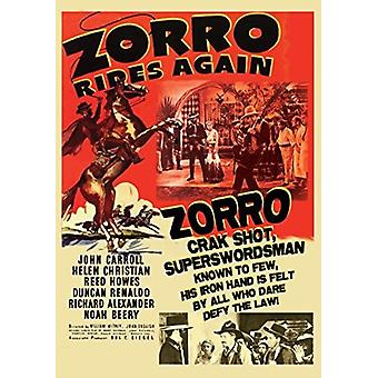 Zorro Rides Again [DVD] USA import