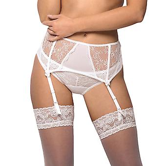 Vena VPP-337 Women es White Lace Suspender Belt