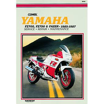 Yamaha FZ700 - FZ750 and Fazer - 1985-87 - Clymer Workshop Manual (New