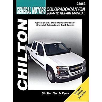 Chevrolet Colorado/GMC Canyon (Chilton) Automotive Repair Manual - 200