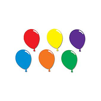 Trykte ballong silhuetter
