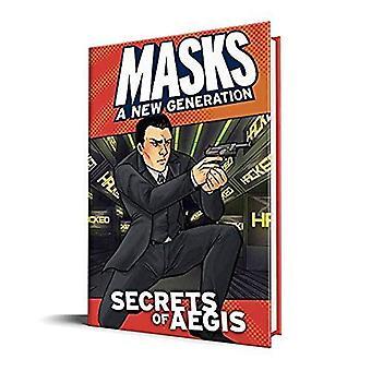 Masker Secrets af AEGIS hardcover bog