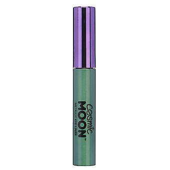 Cosmic Moon - Metallic Eye Liner - 10ml - For mesmerising metallic eye styles - Green