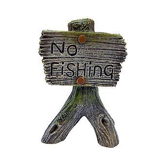Betta Choice No Fishing Sign