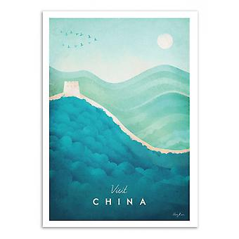 Art-Poster - Visit China - Henry Rivers 50 x 70 cm