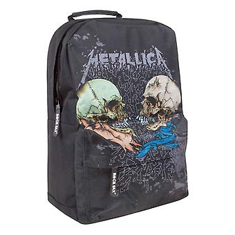 Metallica Backpack Bag Sad But True Band Logo new Official Black
