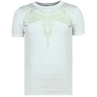 Eagle Glitter - T-shirt serré - 6359W - Blanc