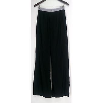Jennifer Hudson Collection Pantalon XXS Wide Leg Noir A233324