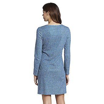 Rosch 1193654-16411 kvinder ' s Smart casual Glacier blå spotted Drops bomuld natkjole