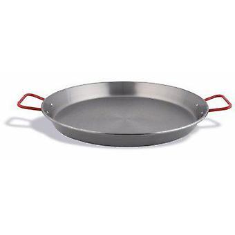 Poêle à Paella espagnole en acier noir de Pujadas 20 Cm (cuisine, ménage, Woks et Paelleras)