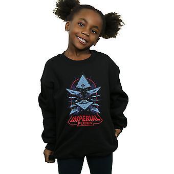 Star Wars Girls Attack Of The Imperial Fleet Sweatshirt