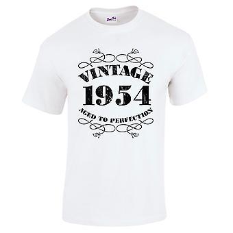 Mannen ' s 65e verjaardag T-Shirt Vintage 1954 nieuwigheid giften voor hem