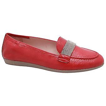Hispanitas Skin Print Flat Leather Moccasin Shoes