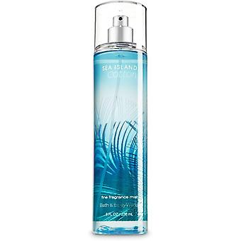 Bath & Body Works Sea Island Cotton Fine Fragrance Mist 8 oz / 236 ml