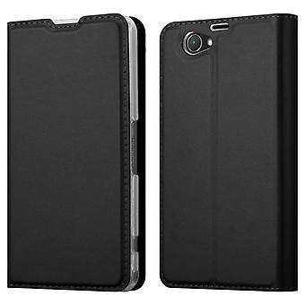 Custodia Cadorabo per Sony Xperia n. 1 COMPACT Case Cover - Custodia per telefono con chiusura magnetica, funzione Stand e custodia per scheda - Case Cover Case Case Case Folding Style