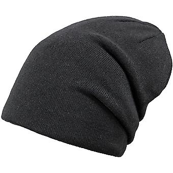 Barts Mens Eclipse Slouch Loose Fit Reversible Beanie Hat