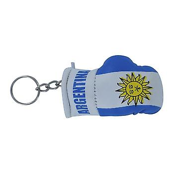 Cle Cles Key Flag Argentina Argentine Boxing Glove Flag Keychain
