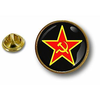 Pine PineS Pin Badge Pin-apos;s Metal Button Star Urss Ussr Russia Soviet Union