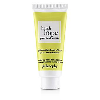 Hands Of Hope Nurturing Hand & Nail Cream - Green Tea & Avocado - 30ml/1oz