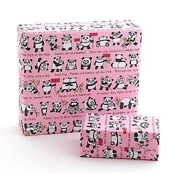Tyrrell Katz Pandas Wrapping Paper