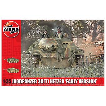 Airfix A1355 Tank Jagdpanzer 38 Tonne Hetzer Early Version - 1:35 Scale Model Kit