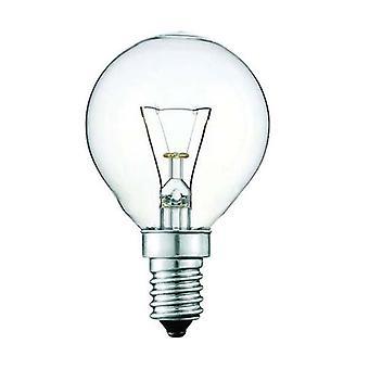 10X Light Bulb E14S 40W 300℃ Clear Fancy Round
