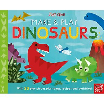 Make and Play Dinosaurs by Joey Chou