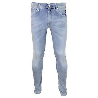 Replay Jondrill Hyperflex Bio Stretch Light Wash Slim Jeans