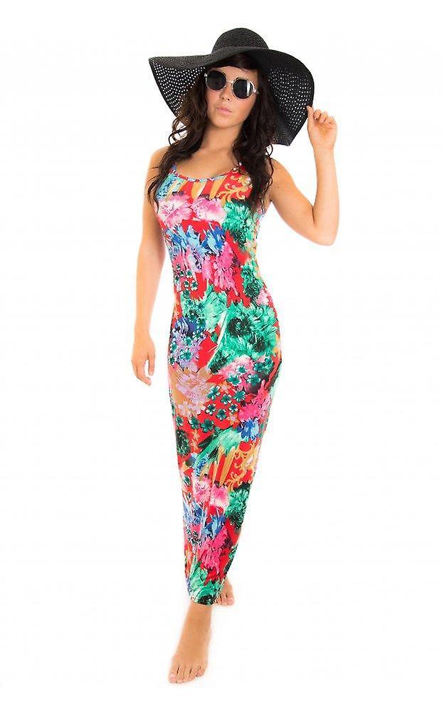 Anika Floral Maxi Dress