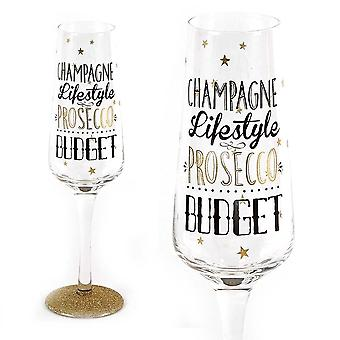 Signography Sparkling Flute Glass Champagne Lifestyle