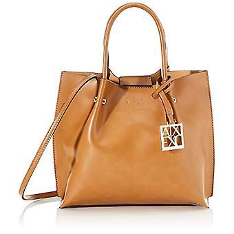 ARMANI EXCHANGE 942655CC795 Brown Women's Bag (CUOIO ( CUOIO - LIGHT BROWN 00153)) 22x11x25 cm (B x H x T)