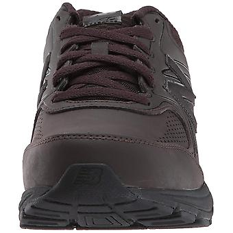 New Balance Mens W840V2 Leather Low Top Lace Up Walking Shoes